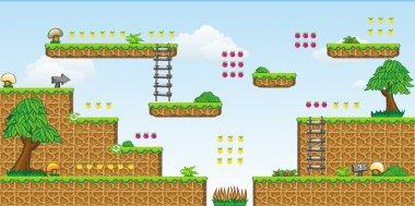 2D Tileset Platform Game 30