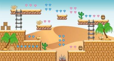 2D Tileset Platform Game 26