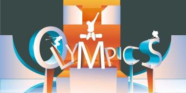 Olympics logo type