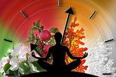 Jóga a předávání času