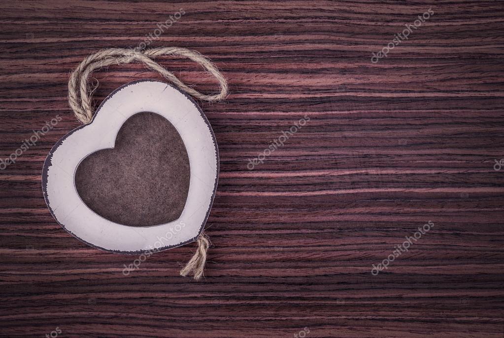 marco de madera de corazón 3 — Foto de stock © fotoyou #38876297