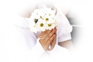 First Communion flowers