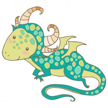 Chinese zodiac animal vector illustration.