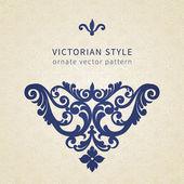 a viktoriánus stílusban barokk dísz