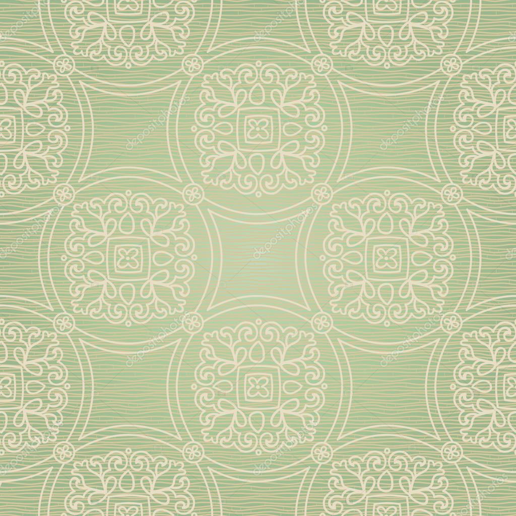 patrones sin fisuras con adorno de encaje — Vector de stock ...