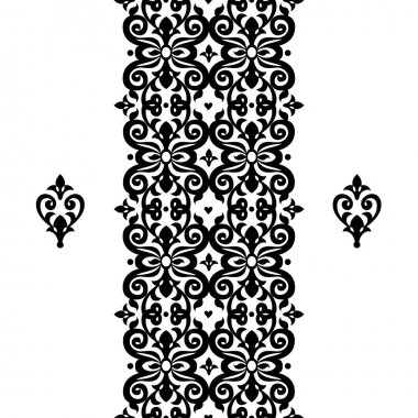 Border in Victorian style