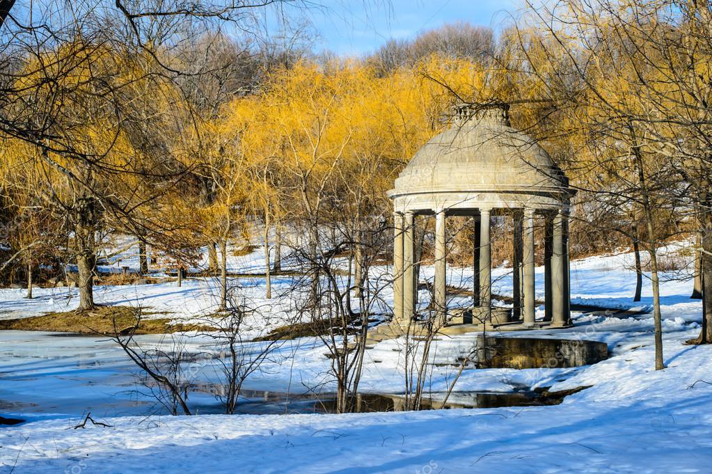 Temple in Larz anderson park, Boston, MA
