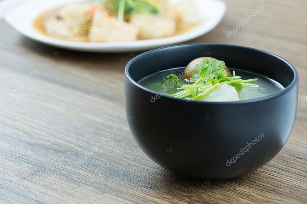 kalebas soep recept
