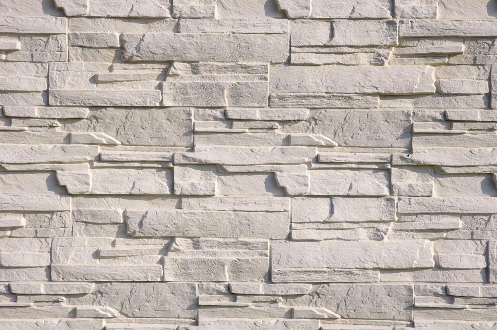 Weiße Fassade Fliesen Steine Imitieren Stockfoto Isabela - Fassaden fliesen kaufen