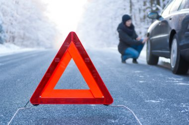 Winter driving - car breakdown