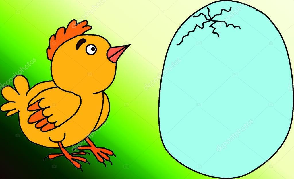 鶏 & eag — ストック写真 © Kakh...