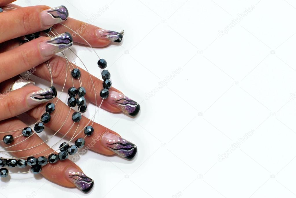 Beautiful Nail Art Stock Photo Schorschjr 38012423