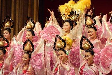 Tang dynasty dance in Xian, China