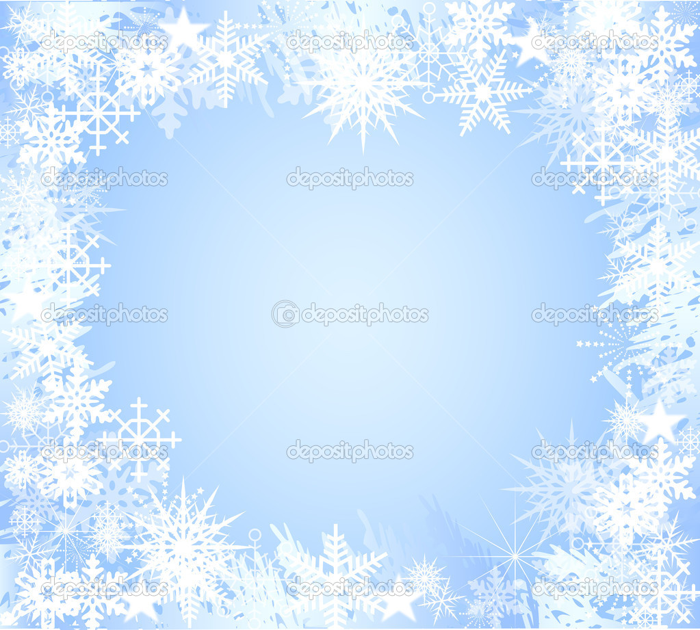 backgroundlight blue snowflake � stock photo 169 bandd