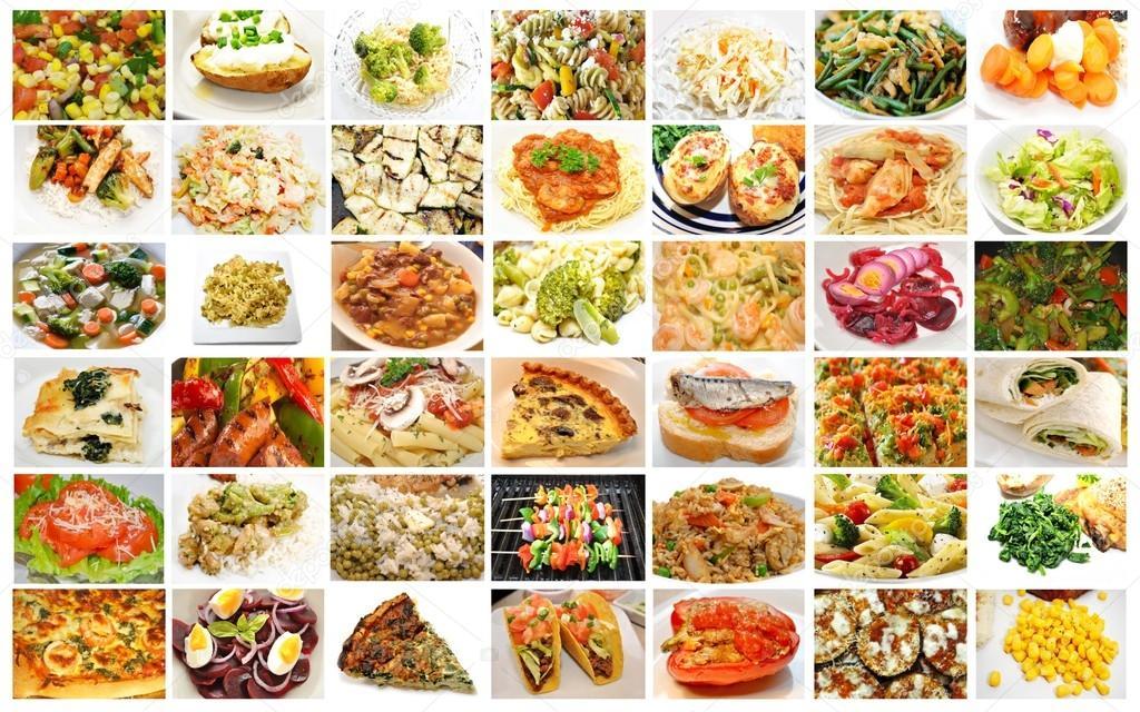 фото разные блюда