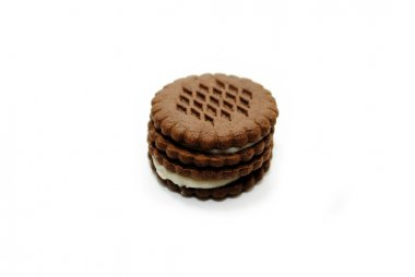 Chocolate Cookie Wafers Filled with a Creamy Center