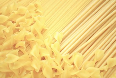 Lightly Colored Noodle Pasta Back Ground