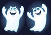 két boldog szellemek lebeg a levegőben