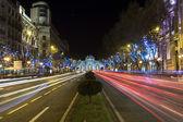 Fotografia Madrid di notte