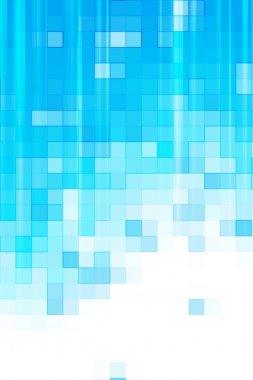 Digital Blue Background