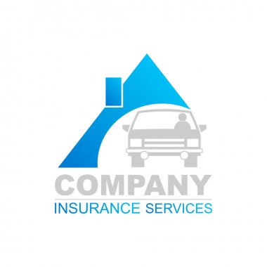 Insurance logo design template