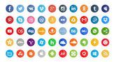 50 sociální ikony