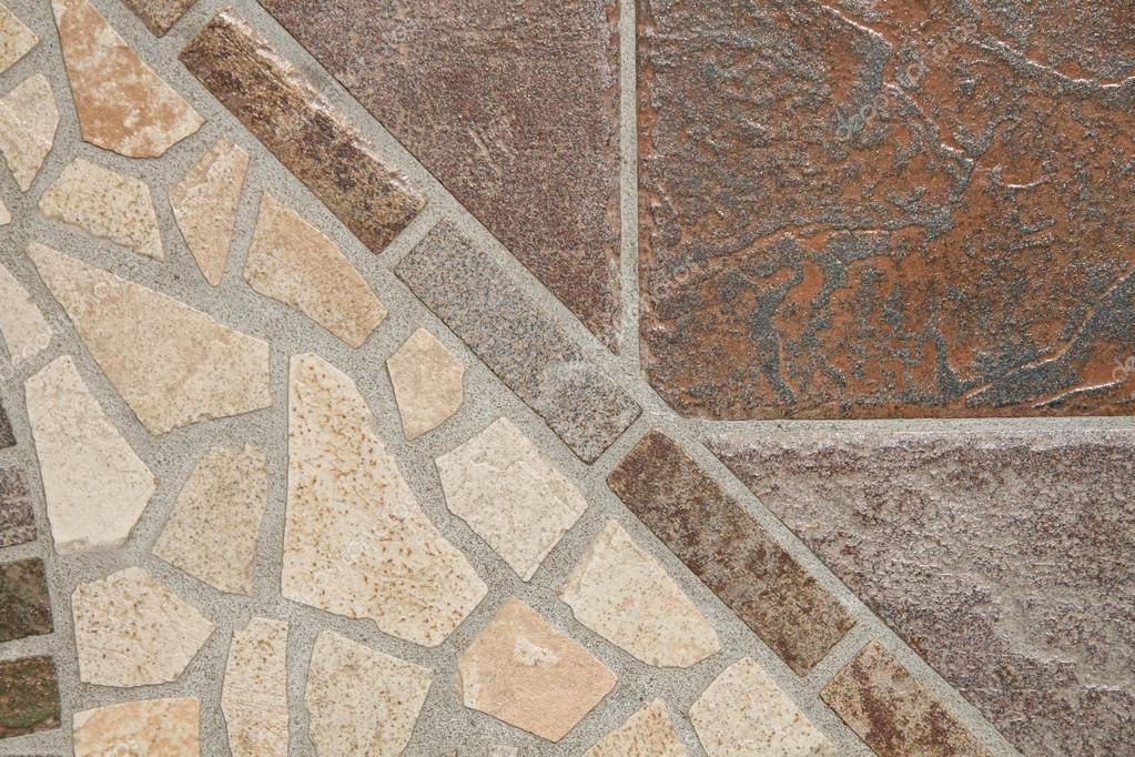 Mosaico di piastrelle da pavimento u2014 foto stock © mmmhagenbucher