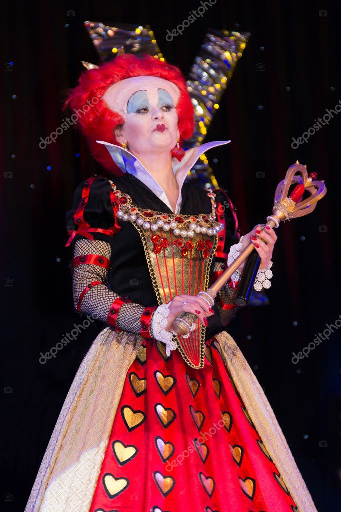 Red qween from Alice in Wonderland