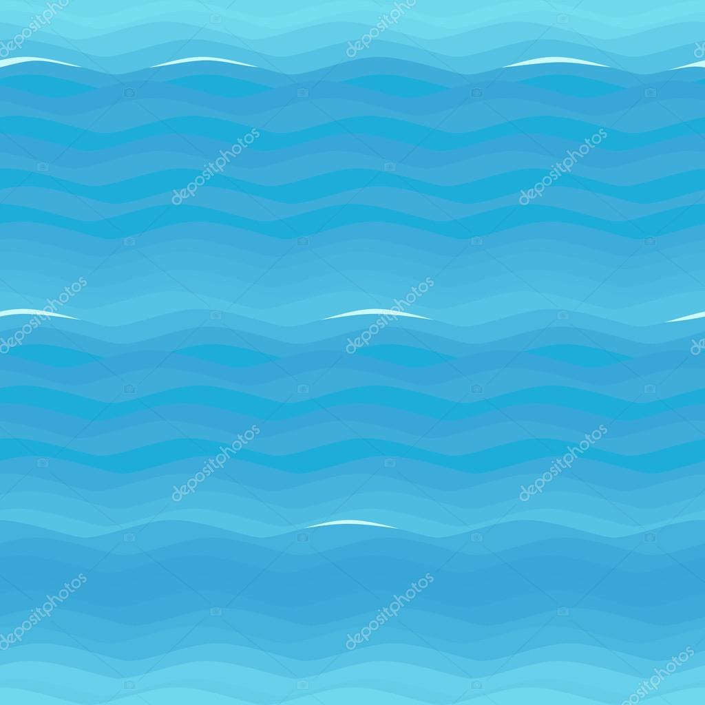 seamless texture: sea with waves