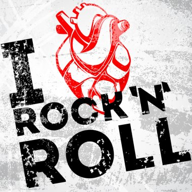 I love rock and roll