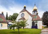 Fényképek Barnbach, Ausztria - június 16: templom, Szent Borbála, a június 16-án, 2