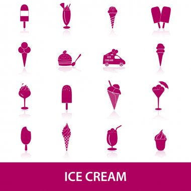 ice cream icons eps10