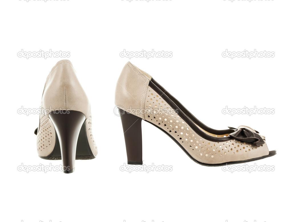 b39d297da sapatos femininos bonitos e elegantes — Stock Photo © vensk #41539733