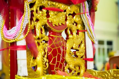 Red Goddess Palanquin
