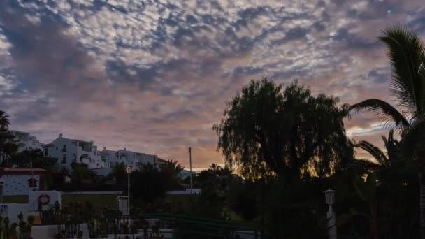 timelapse, tenerife, Španělsko
