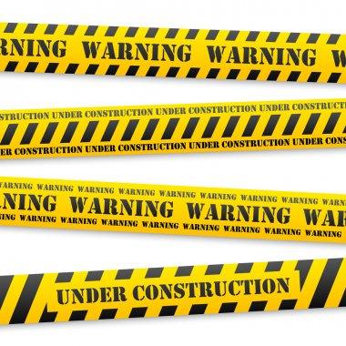 vector warning tapes