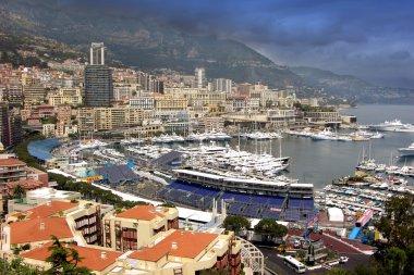 Monte Carlo,Monaco,panoramic view
