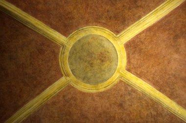 """Картина, постер, плакат, фотообои """"Венецианский религиозные росписи на рынке Риальто в Венеции"""", артикул 43876455"""