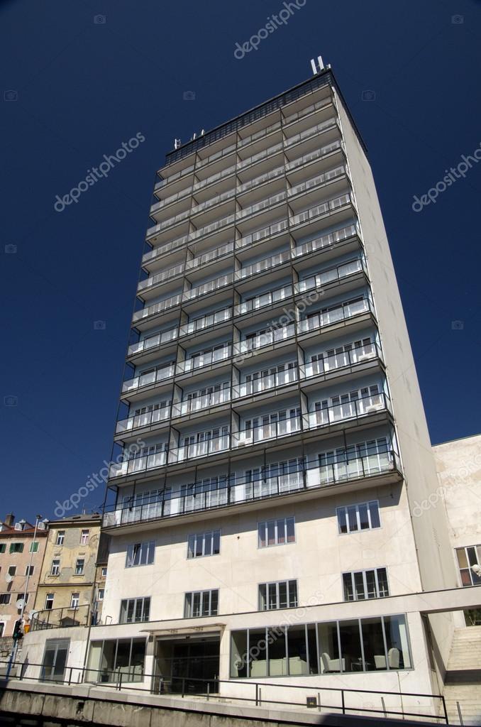 Hotel Scysraper in Rijeka,Croatia