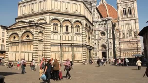 Turisté u Florencie