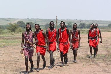 Masai Men Dance