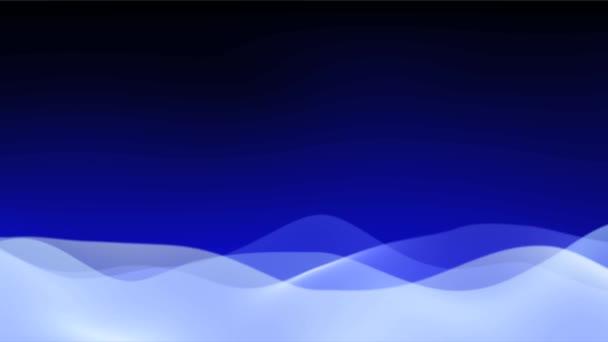 abstraktní vlny pozadí oblohy