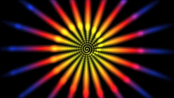 hvězdy spirále vír abstrakt