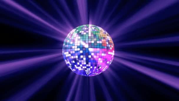 Disco barevný míč