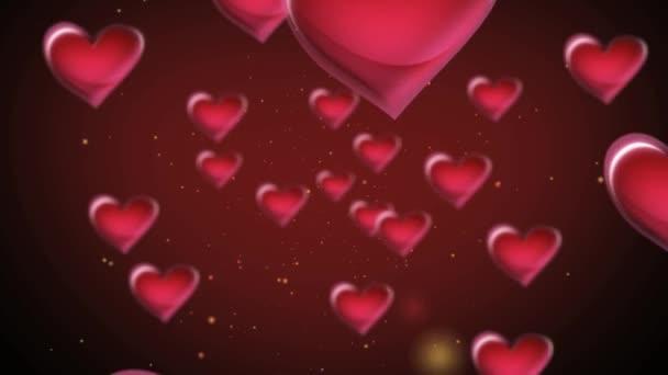 Červené srdce ve vesmíru