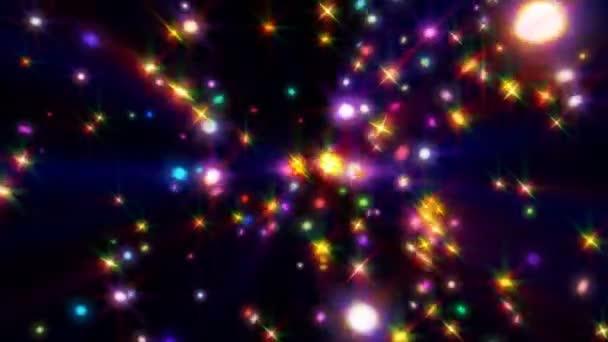 színes csillag mágikus animáció