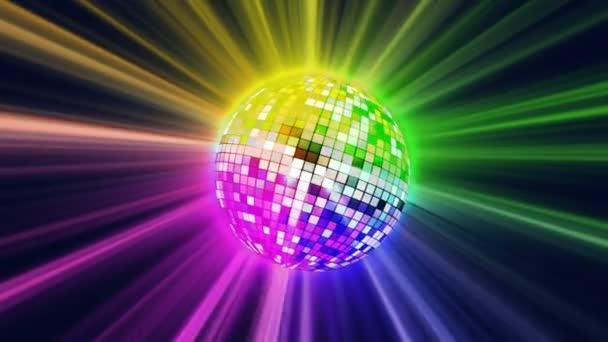 disco ball ray color