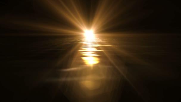 átrepülnek a tenger a sunset