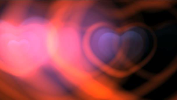 Láska srdce abstraktní pozadí