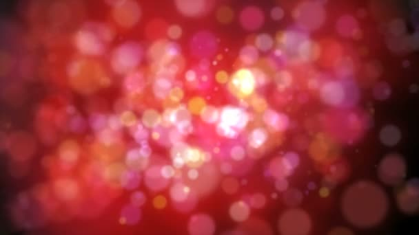 animazione di colore astratto cerchio spot